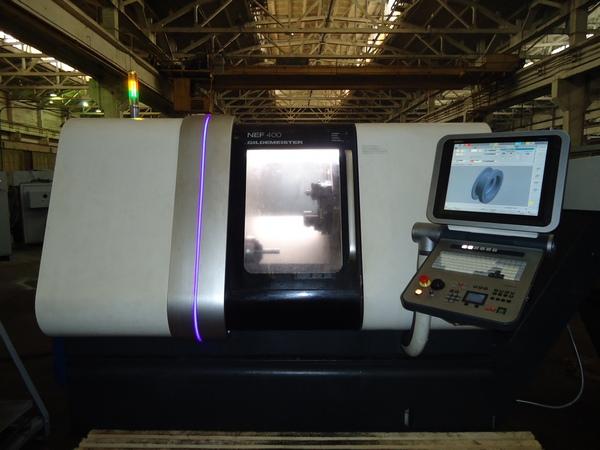Горизонтальный токарный обрабатывающий центр DMG